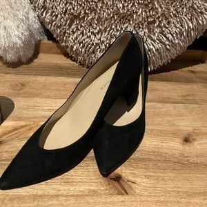 Short slip on heels